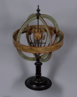 Copernican Armillary Sphere with Orrery. View 3.