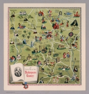 A Dunlop map of the Shakespeare Country. LE 50/37