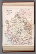 India : Railways, telegraphs, and navigable canals: Section I. Plate 18