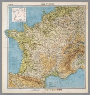 Zones of France : 1:2,000,000