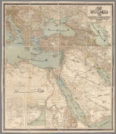 General map of the protected countries. Ottoman Empire