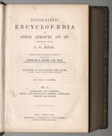 Title Page: Iconographic Encyclopaedia of Science, Literature, and Art.