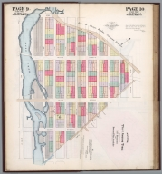 Composite Map: Page 9-12: Map of third Avenue Tract, Registered number 115