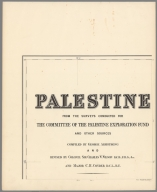 Title Page: P.E.F. Palestine, sheet 1. Palestine : from the surveys conducted for the committee of the Palestine Exploration Fund and other sources