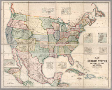 Map Of The United States British Central America David - Zoomable us map