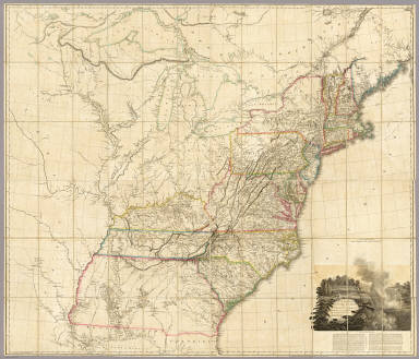 David Rumsey Historical Map Collection All Categories - 1808 map of the us