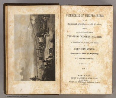 Title Page: Commerce of the Prairies.