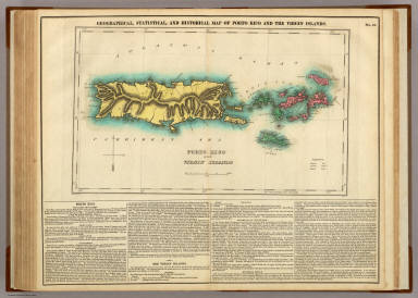 Browse All : Images of Puerto Rico - David Rumsey Historical Map ...