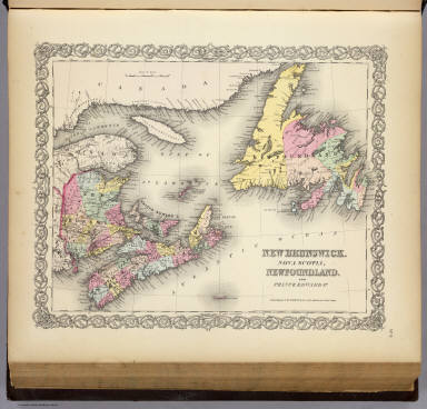 New Brunswick, Nova Scotia, Newfoundland, and Prince Edward Id.