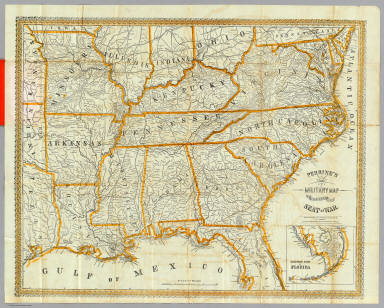 Browse All Images From US Civil War And David Rumsey - Us map 1862