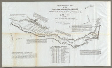 Map Of The Road From Missouri To Oregon ... Section VI.