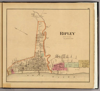 Ripley Ohio Map.Browse All Images Of Ripley Ohio David Rumsey Historical Map