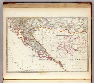 Browse all atlas map of croatia david rumsey historical map society for the diffusi austrian dominions iii 1832 world atlas gumiabroncs Images