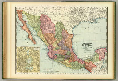 Browse All Atlas Map Of Mexico 2c Valley Of 28mexico 29 David
