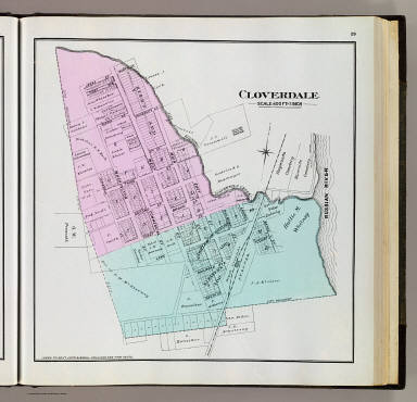 Browse All Atlas Map of Cloverdale 28Calif29 David Rumsey