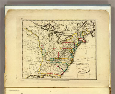 Browse All Atlas Map of United States from 1804 David Rumsey