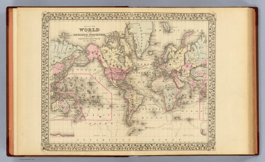 Browse All : World Atlas from 1880   David Rumsey Historical Map