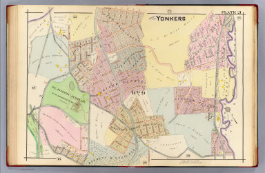 Browse All Images of Yonkers NY David Rumsey Historical Map