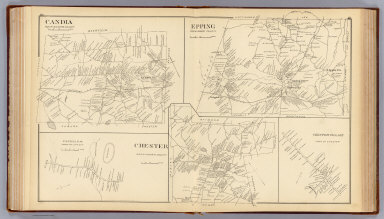 Browse All : Images of Candia (N.H. : Town) - David Rumsey ... on