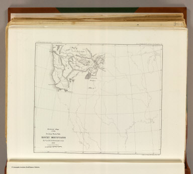 Reduced section, territory west of Rocky Mountains, 1837.