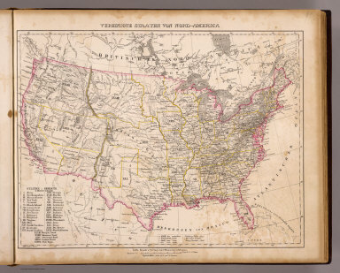 Browse All Images Of United States From 1855 David Rumsey - 38th Parallel Us Map