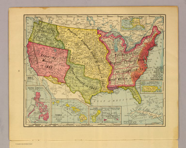 Map Of America 1900.Browse All Images By Rand Mcnally And Company From 1914 David