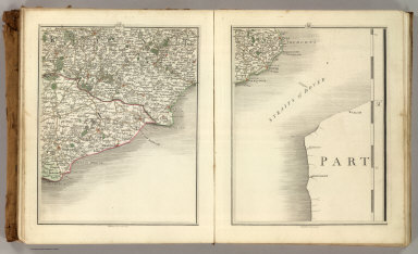 Sheets 17-18. (Cary's England, Wales, and Scotland).
