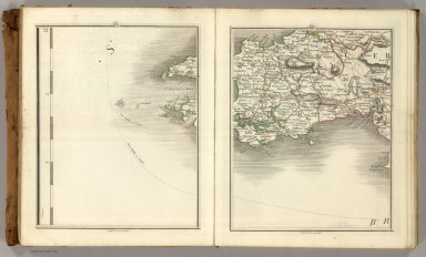 Sheets 19-20. (Cary's England, Wales, and Scotland).