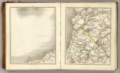 Sheets 29-30. (Cary's England, Wales, and Scotland).