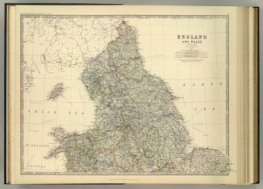 England and Wales (northern sheet).