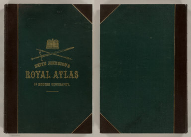 Covers: Royal Atlas of Modern Geography.