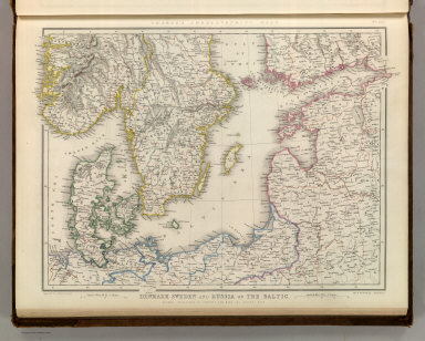 Denmark Sweden and Russia on the Baltic.