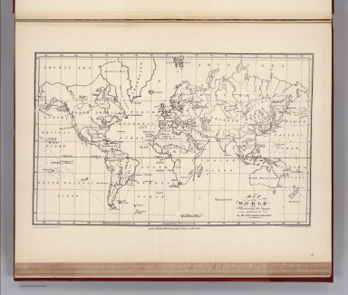 Facsimile: Langsdorff's Map of the World.
