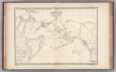 Facsimile: Russian Chart of the Frozen Ocean and the Eastern Ocean.