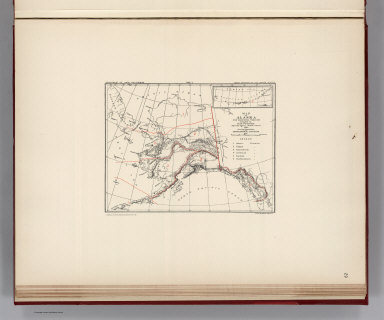 Facsimile: Petroof's Map of Alaska and Adjoining Regions: Geographical Divisions.