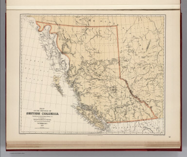 Facsimile: Map of the Province of British Columbia.