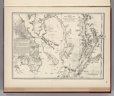 Facsimile: Cordova Bay to Cross Sound. Part of British Admiralty Chart. No. 2431.