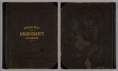 Covers: Atlas Map Of Adams County, Illinois.