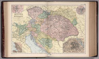 Browse All Images of Hungary David Rumsey Historical Map Collection
