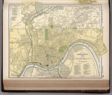Browse all images of ohio david rumsey historical map collection map of cincinnati ohio 92 gumiabroncs Choice Image