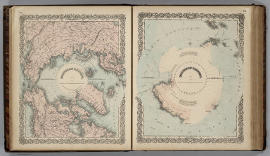 Northern Regions, North Pole. Southern Regions, South Pole.