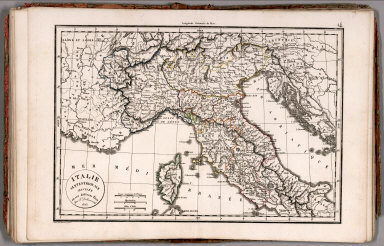 Browse all atlas map of croatia david rumsey historical map italie septentrionale divisee en ses differens stats 1825 gumiabroncs Gallery