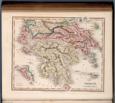 Browse all atlas map of greece from 1832 david rumsey historical greece gumiabroncs Gallery