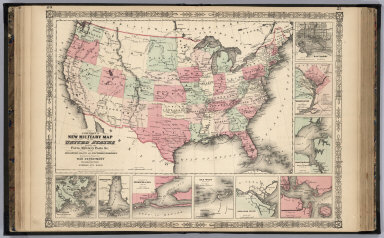 New Military Map of the United States