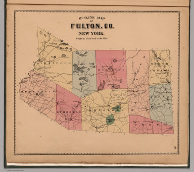 Browse All : Images of Fulton County (N.Y.) - David Rumsey ...