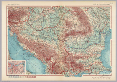 Browse all atlas map of croatia david rumsey historical map yugoslavia and danube countries pergamon world atlas gumiabroncs Gallery
