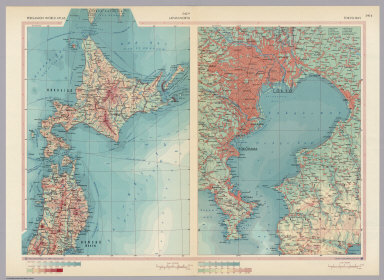Browse all atlas map of japan david rumsey historical map collection japan north tokyo bay pergamon world atlas gumiabroncs Gallery
