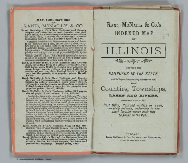 Title Page: Indexed Map of Illinois