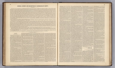 Text: General History and Description of Androscoggin County.