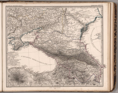 Ost-Europa. Sud-Russland & Kaukasien. (South Russia and Caucasus).